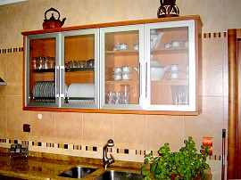 Kitchen: cabinets. Kitchens, kitchen appliances, doors