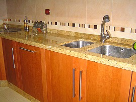 Kitchen: sink, appliances. Kitchens, kitchen appliances, doors
